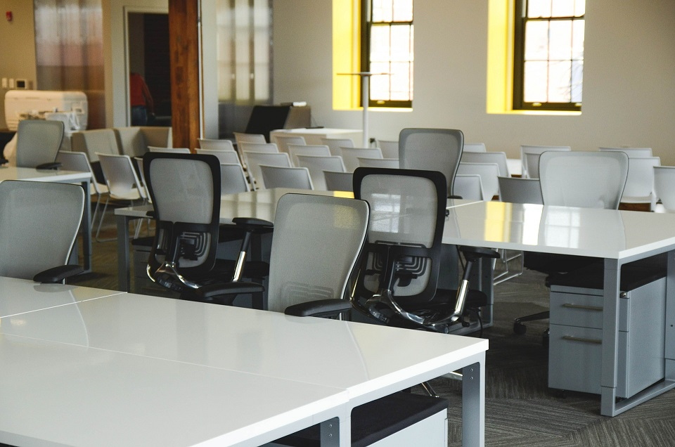 office furniture job hunting